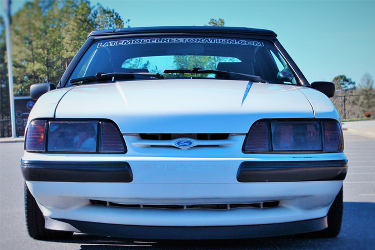 Fox Body Mustang 4 Cylinder To V8 Conversion 1988 Fog Lights