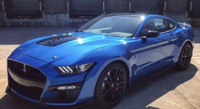 Blue Mustang Colors & Paint Codes   - Blue Mustang Colors & Paint Codes