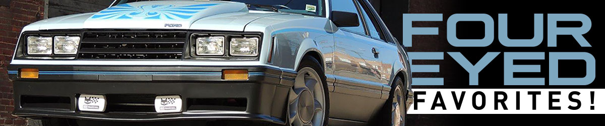 1979-1986 Mustang Four Eyed Favorites!