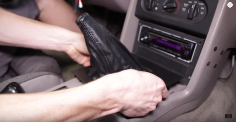 How To Install Mustang Genuine Leather Upper Shift Boot (87-93) - How To Install Mustang Genuine Leather Upper Shift Boot (87-93)