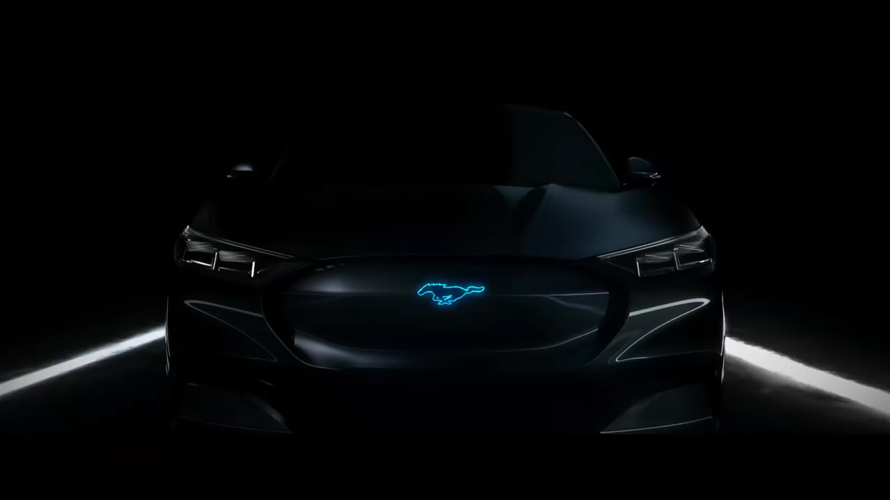 Ford Mustang Inspired Electric SUV - Here