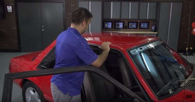How To Install Mustang Roof Rail & Door Belt Molding (83-95) - How To Install Mustang Roof Rail & Door Belt Molding (83-95)