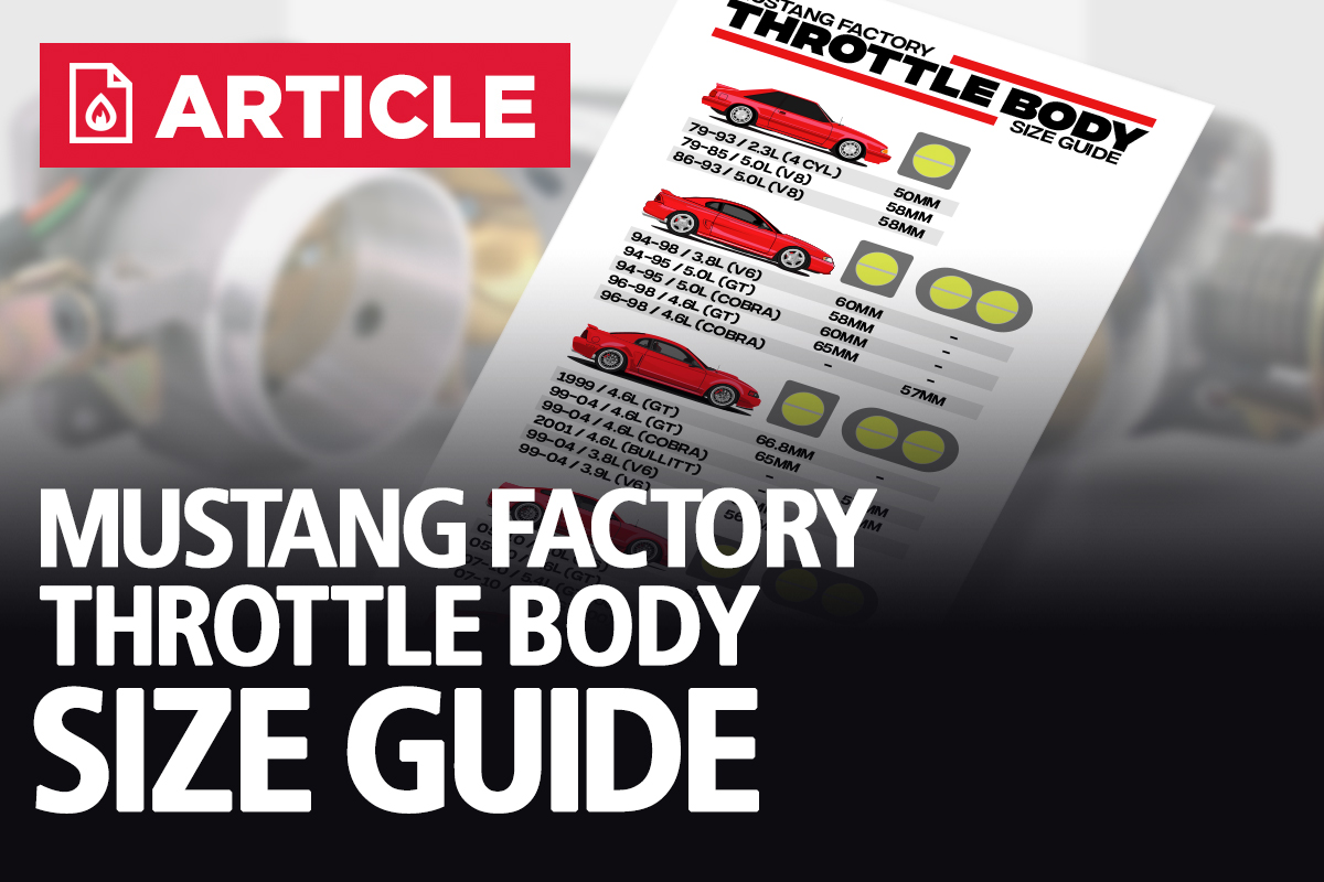 Factory Mustang Throttle Body Size Guide Lmr Com