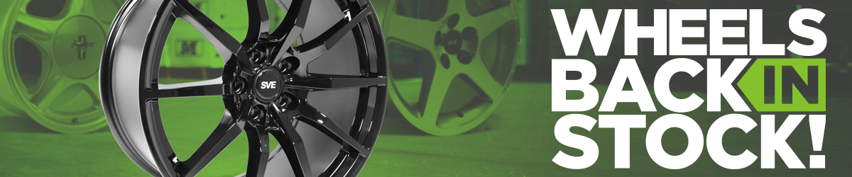 Mustang Wheels Back In Stock!