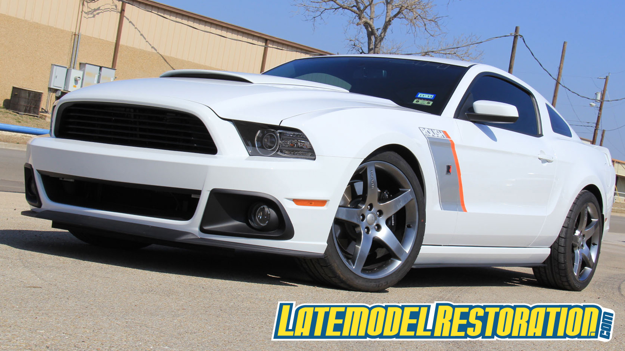 Roush Chin Spoiler & Side Splitter Install (13-14 Mustang) - Roush Mustang Chin Spoiler & Side Splitters