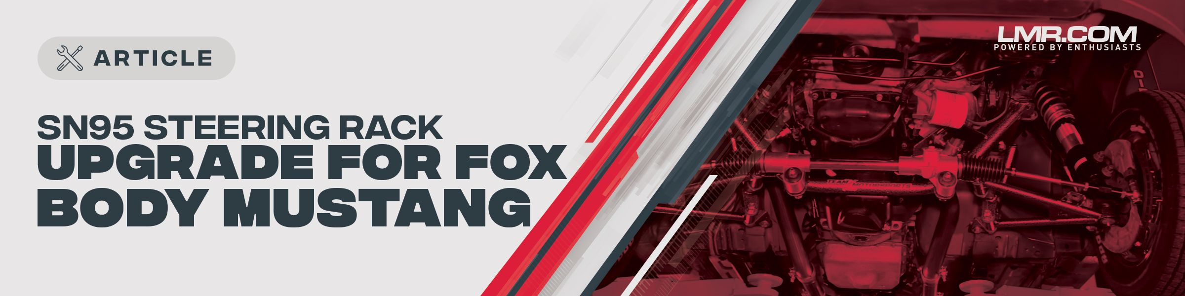 SN95 Steering Rack Upgrade | Fox Body Mustang - SN95 Steering Rack Upgrade | Fox Body Mustang