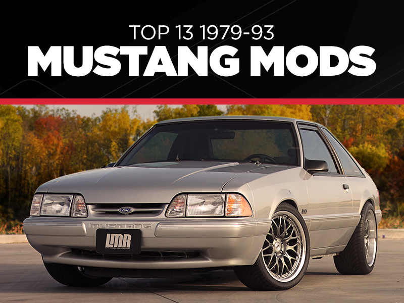 Fox Body Mustang Performance Parts >> Top 13 Mustang Fox Body Mods Lmr Com