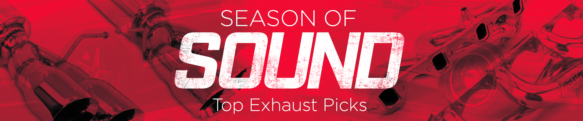 Season of SOUND! Top Exhaust picks in April!