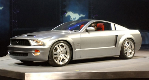 What Is An S197 Mustang? - S197 2005 Mustang Concept