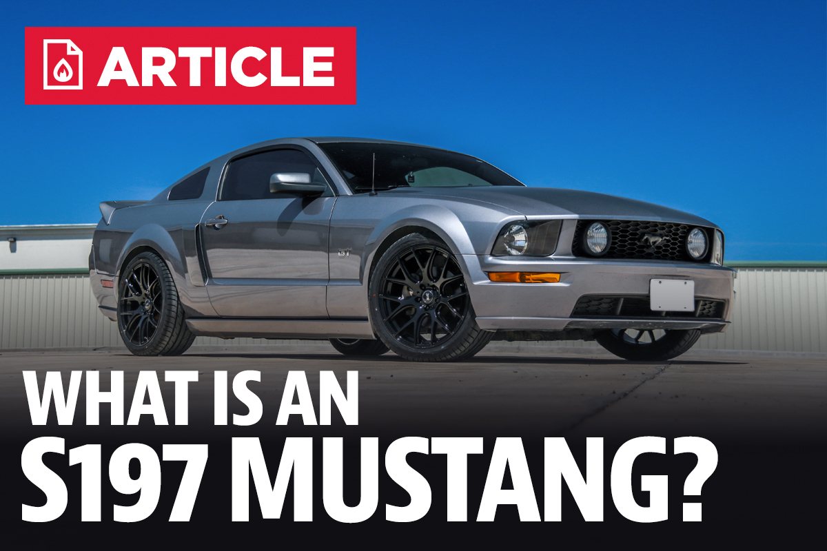 What Is An S197 Mustang 2011 V6 Fuel Filter